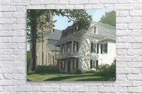 Balcony House Shadows - Newtown Scenes 16X20   Acrylic Print