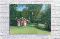 Lands End School - Newtown Scenes 18 X24   Acrylic Print