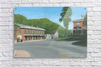 The Brick Store - Newtown Scenes 18 X 26   Acrylic Print