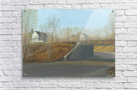 Botsford Underpass - Newtown Scenes  18X24  Acrylic Print