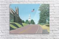 Church Hill Road - Newtown Scenes 12X16  Acrylic Print