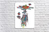 Herero Woman 7  Acrylic Print