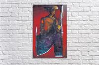 Red Massai  Impression acrylique