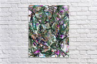 dancingonFire_GreenBlackBlue  Acrylic Print