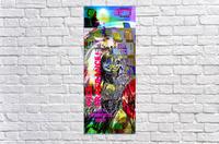 R_PUNKS_SOMEKINDOFMONSTER  Acrylic Print