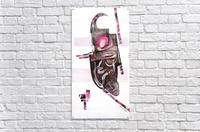 noir_blanc_rose  Impression acrylique