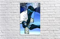 blue fragments  Acrylic Print