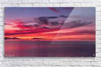 Late summer sunset DSC_3498  Acrylic Print