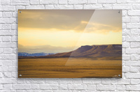 Square Butte  Acrylic Print
