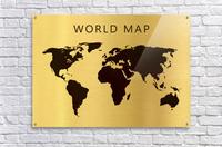 map world 4  Acrylic Print