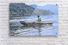 En Lago de Atitlan, Guatemala  Acrylic Print