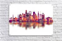 Riyadh Saudi Arabia Skyline  Acrylic Print