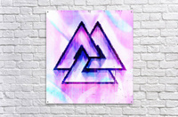 Valknut Light & Colorful  Acrylic Print