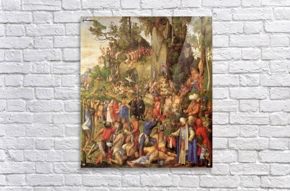 Marter der zehntausend Christen  Acrylic Print