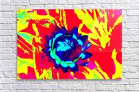 Graphic Flower Effect 2  Acrylic Print