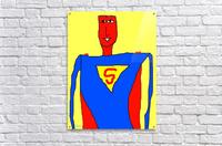 Superman Lite  Acrylic Print
