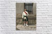 RSM David Nelson 72nd Regt. Seaforth Highlanders of Canada c.1913  Acrylic Print