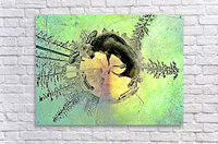abstract baby moose   Acrylic Print