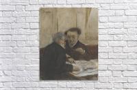 At the Café Châteaudun  Acrylic Print
