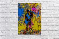 abstract love  Acrylic Print