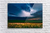 Prairie Lightning  Acrylic Print
