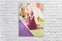 Purple Baroque  Acrylic Print