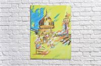 Ahson_Qazi_Geometrical_Islamic abstract artahson_qaziShades_of_DivinityIslamic_Artstretched canvass 12x16  Acrylic Print