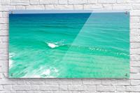 Clear Surf   Acrylic Print