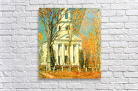 The Church of Old Lyme, Connecticut -2- by Hassam  Acrylic Print