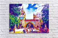 Vajdahunyad Castle  Acrylic Print