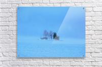 Frosty Morning on Georgian Bay  Acrylic Print