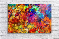 Autumn Leaves Abstract   Acrylic Print