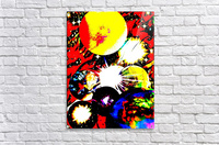 Clash of Worlds  Acrylic Print