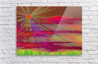 Sunrise In The Klamath Basin 2   Acrylic Print
