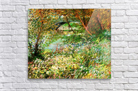 Banks of the Seine with Pont de Clichy in the Spring by Van Gogh  Acrylic Print