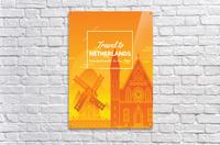 Travel To Netherlands  Acrylic Print
