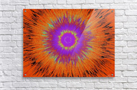 Abstract Sun 33  Acrylic Print