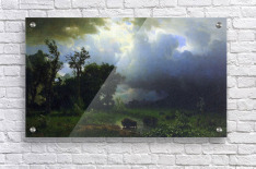 Before the Storm by Bierstadt  Acrylic Print
