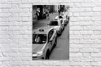 New York Taxis  Acrylic Print