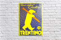 Vintage Travel - Trentino  Acrylic Print