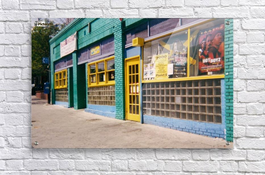 Atlanta Street Scene   Acrylic Print
