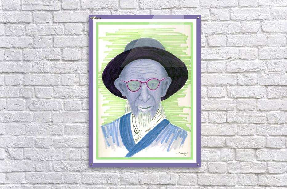 Caretaker Chinese Palace  Acrylic Print