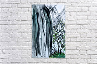 Serenity in Ink  Acrylic Print