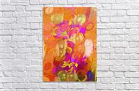 Pink and orange  Acrylic Print