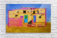 Adobe House New Mexico  Acrylic Print