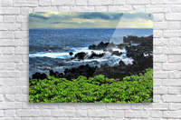 Hana Beach Hawaii  Acrylic Print
