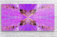 Butterfly in Crystal 49  Acrylic Print