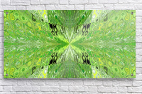 Butterfly in Crystal 70  Acrylic Print