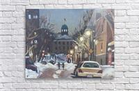 McGill Ghetto Night Scene  Acrylic Print