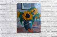 sunflowers home  Acrylic Print